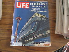Life magazine May 4 1962 Seattle World's Fair COMPLETE