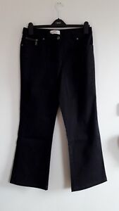 Gorgeous Black Stretch Bootcut Traditional Jeans from Papaya - Size 12 - Great!