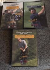 Golf DVD Set of 3 PGA Tour Partners Club Game Improvement 2 Different Pro Golfer
