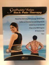 SpaBuddy Relax Tens Therapy Massage Belt Massaging Back Pad Pain Relief ZEWA NEW