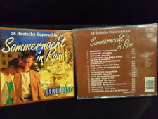 Roland Kaiser Thomas Anders Drafi Deutscher/Sommernacht in Rom Schlager 18-Tr/CD