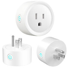 Mini Wifi Smart Plug Socket Timer Outlet Remote Control Alexa Google IFTTT Home