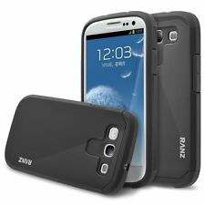 For Samsung Galaxy S3 i9300 Case, Hard Impact Dual Layer Shockproof Bumper Case