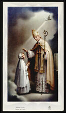 """santino-holy card""""""""ediz. FB serie 5 n.49 RICORDO S.CRESIMA"""