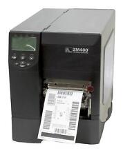 Zebra ZM400 ZM42Z-2001-4100D FedEx 311090 Direct Thermal Printer Network Rewind
