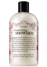 Philosophy Shimmering Snowlace Shampoo, Shower Gel And Bubble Bath 16oz