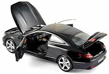 Mercedes Benz S Coupe s-Class C 217 2014-16 Black 1:18 Norev