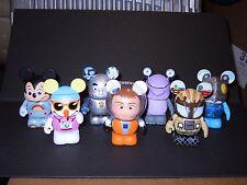 "Lot of 7 Disney Vinylmation 3"" figurines - PARK series 8"