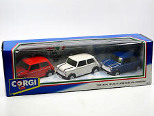 "Corgi 94171 ""THE ITALIAN JOB"" 3-piece-Set, red/white/blue ca. 1:36 OVP"