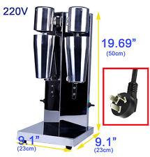220v New Mixer Milk Tea Stainless Steel Milk Shaker Mixer