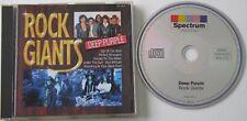 ROCK GIANTS...DEEP PURPLE..12 TRACK MUSIC CD