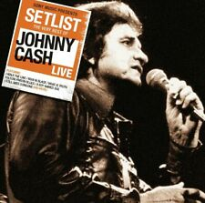 Johnny Cash - Setlist: The Very Best of Johnny Cash Live CD NEW, FREE UK POST
