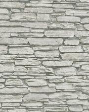 Marburg Novamur 81901 Steine Mauer Ziegel Klinker 3D Grau Weiß Beige 6721-10