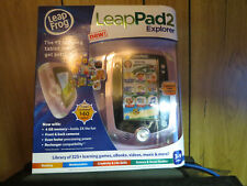 Leap Frog LeapPad2 Explorer Disney Pink Kids Toy Tablet and learning game New