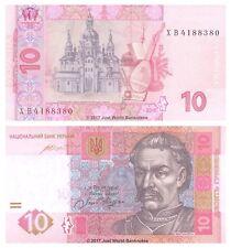Ucraina 10 hryven 2015 P-NUOVE BANCONOTE UNC