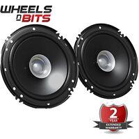 "JVC CS-J610X 6.5"" 17 cm 600 Watts a Pair Dual Cone Coaxial Car Van Door Speakers"