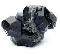 59g Rare Beauty Gem Grade Blue Fluorite Crystal Mineral Specimen/China
