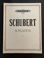 Edition Peterson SCHUBERT Sonaten I Piano Sheet Music Score