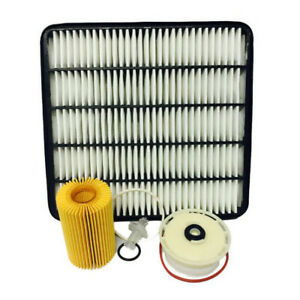 WESFIL for Toyota Landcruiser 200 Series 4.5L AIR OIL FUEL FILTER SERVICE KIT