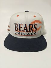 Chicago Bears Reebok Hat NFL Team Apparel White Snapback Football Cap