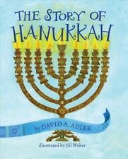 The Story Of Hanukkah by David A. Adler (Board book, 2018) Free Shipping !!!