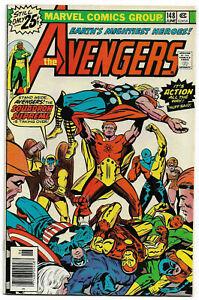 AVENGERS#148 VF/NM 1976 MARVEL BRONZE AGE COMICS