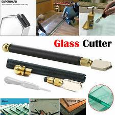 Glass Cutter Oil Lubricated Professional Tool Cut 2-8mm Mirror Sharp Diamond UK