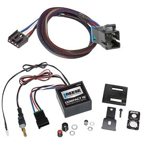 Reese IQ Trailer Brake Control for 04-16 Freightliner SL XC w/ Wiring 1-3 Axle