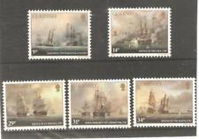 1986   GUERNSEY - SG  360 / 364 - ADMIRAL LORD DE SAMPREZ - UMM