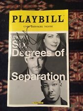Allison Janney (2018 Oscar Winner) Signed Six Degrees Of Separation Playbill