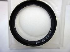 Schneider B+W 46mm TRANSPARENTE Ultravioleta Neblina SC (Uva) 010 Filtro