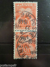 FRANCE, 1946-55, timbre TAXE 86, type GERBES, oblitéré, VF CANCELLED STAMP TAX