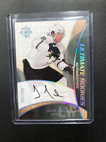 08-09 UD ULTIMATE ROOKIES JAMES NEAL AUTO! 263/399 🏒🔥💪 Stars / Golden Knights