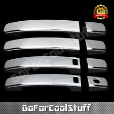 For Nissan Frontier 05-14 Chrome 4 Doors Handles Covers W/ Smart Keyhole