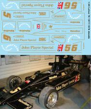 1/20 Lotus 78 JPS 1977 1978 Tamiya Decals TB Decal tbd96