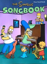 THE SIMPSONS - SONGBOOK - PIANO / VOCAL / CHORDS - 98 PAGE PAPERBACK - 2002