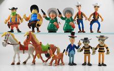 Lucky Luke === 12 Figuren inkl Bürgermeister ! spanische Figuren