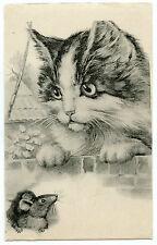 LE CHAT ET LA SOURIS.  CAT AND MOUSE