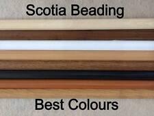 Laminate Floor SCOTIA BEADING, EDGING TRIM, ANTIQUE OAK, BEECH, WHITE, 1.2mt