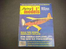 Flying Model Magazine,Radio Controlled,March 1983,Biplane,Aberle,R/C Boats,Cars