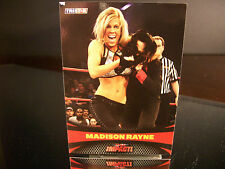 Rare Madison Rayne Tristar TNA Impact 2009 Card #55 Wrestling