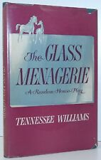 TENNESSEE WILLIAMS The Glass Menagerie A Play FIRST EDITION FIRST PRINTING 1945