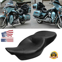 Two Up Driver Rider Passenger Seat For Harley Electra Glide Touring FLHT 2014-20
