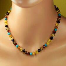 Amber necklace, Baltic amber, Adult amber necklace, Natural Baltic Amber, amber