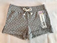 New! Jumping Beans Roll Cuff Polka Dot Slub Shorts Baby Girl Size 3 Months.