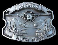 Alaska Hydroplane Bush Pilot Belt Buckle Boucle de Ceinture