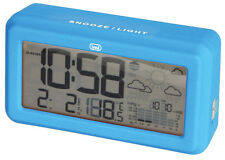 Trevi Weather Station And Digital Alarm Clock  Big Display Blue FREE DELIVERY