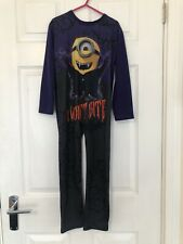 Minions All In One/ Costume - Size 5-6 Years