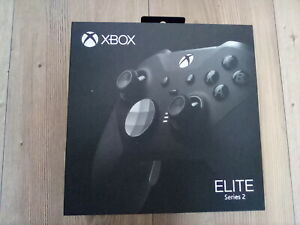 Official Microsoft Xbox One Elite Wireless Controller Series 2 - Black