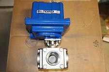 Bi-Torq BI-675-A-7 Electric Actuator and Valve Assembly 3-Way 115VAC BI675A7 New